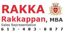 Rakka Rakkappan, MBA logo